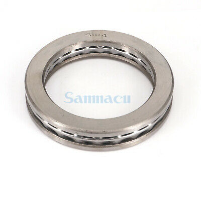 51114 70 x 95 x 18mm Axial Ball Thrust Bearing (2 Steel Races + 1 Cage) ABEC-1 4
