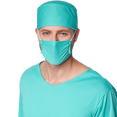 Herrenkostüm OP-Arzt  Halloween Kostüm Karneval Fasching Doktor Krankenhaus 3