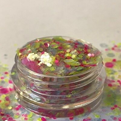 Chunky Glitter Loose Mix Pot Eye Shadow Nail Face Tattoo Festival Club Cosmetic 10