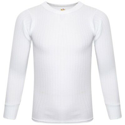 SOFTY®  Unisex Children Kids Thermal Underwear Long Sleeve T-Shirt Top Warm Vest 2