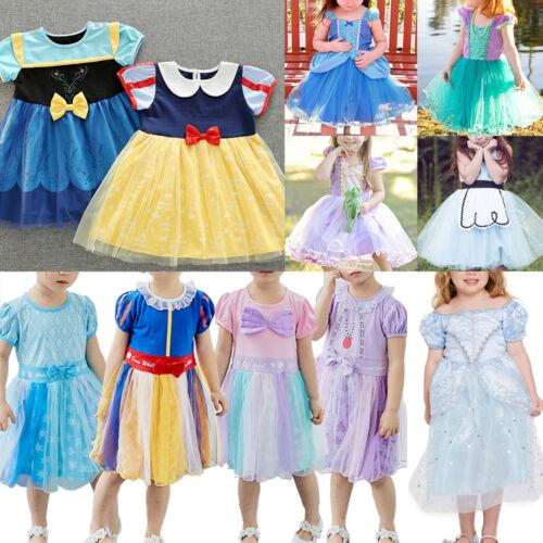 a291060471f Enfants Fille Princesse Cendrillon Déguisement Fête Fée Robe Tutu Cosplay 3  3 sur 11 ...
