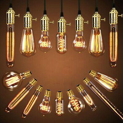 E27 40w Vintage Led Edison Ampoule Filament Clair Décoration de Maison 2