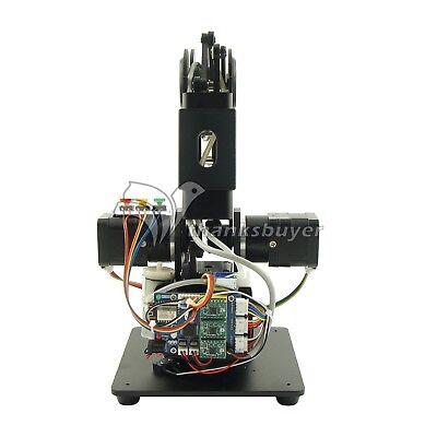 Black Mechanical Robot Arm 3 Axis Production Line Carry Aluminum Alloy 6061 2
