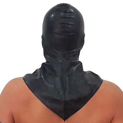 Latex-Hangman's Henker Maske aus Gummi, Einheitsgröße 6