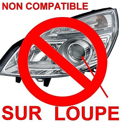 Ampoule Plasma Hod H1 100W Lampe Halogene Feu Effet Xenon Blanc Blanche 6000K 12 5