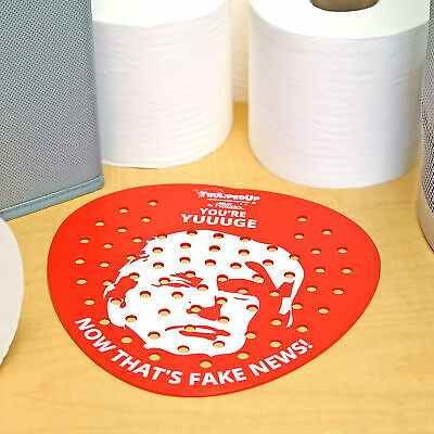 Funny Trump URINAL Screen POTUS Toilet Screen Gag Gift for Work and Office 5