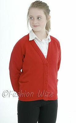 Age 3 4 5 6 7 8 9 10 11 12 13 Uniform Age 11-12 Years, Bottle Green Girls School Cardigan