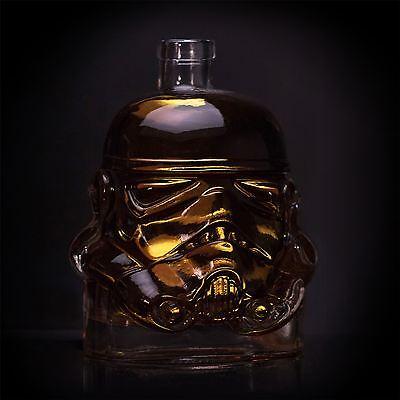 Star Wars Stormtrooper Glass Drinks Decanter Whisky Sherry Liquer Trooper Helmet 3