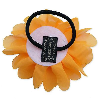 Large Pastel Tone Fabric Flower Hair Clips Grips Bobbles Bridesmaid Pompom Bride 4