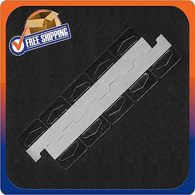 5000 Clear Self Adhesive Medium Duty Slot Hang Tab Tags 14Oz Limit Retail Hanger 4
