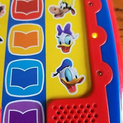 DISNEY ELECTRONIC STORY Me Reader Sound Pad Red