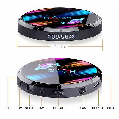 2020 H96 MAX X3 4GB+32GB Android 9.0 TV Box Smart Amlogic S905X3 Dual WIFI BT UK 10