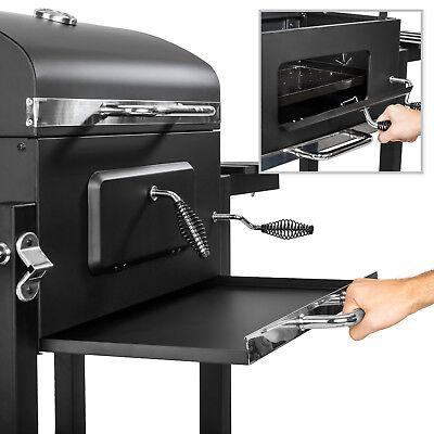 BBQ Griglia a carbonella barbecue giardino legna affumicatoio 115x65x107 5
