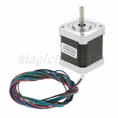 NEMA17 0.9° Degree 2-Phase 4-Wire 34mm Bipolar Stepper Motor For 3D Printer 2
