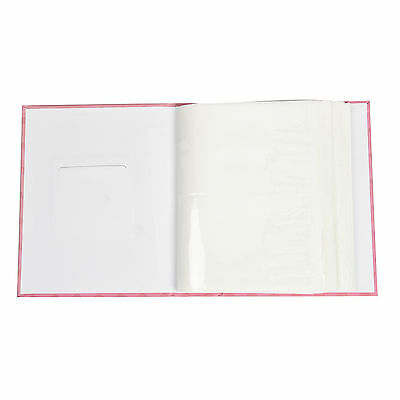 """6x4"""" 200 Photos Large Slip in Photo Album with front Window - Pink Butterfly 4"""