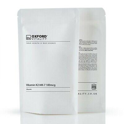 Vitamin K2 MK-7 100mcg Tablets : Natto MK7 Menaquinone Bone Health & Support 4