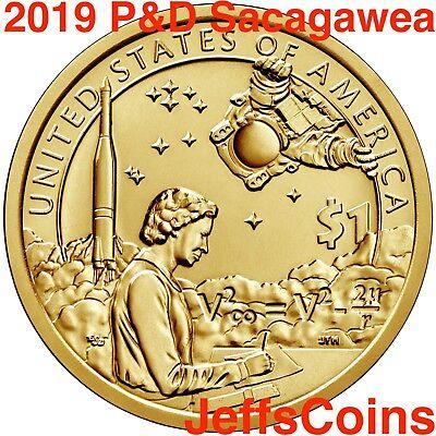 2019 P D SACAGAWEA NATIVE AMERICAN Coin Indian s Space Program Apollo 11 Moon PD 2
