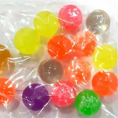 30 MultiColour Jet Bouncy Balls Pinata party loot bag Christmas stocking fillers 2