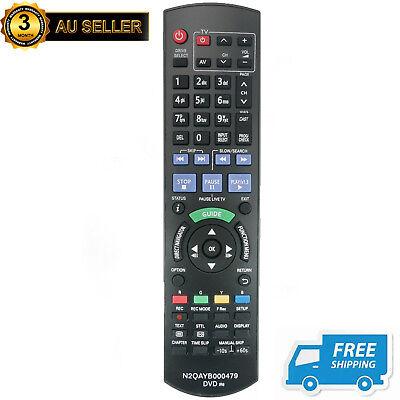 New N2QAYB000479 Remote for Panasonic DVD Recorder DMR-XW385 DMR-XW390 DMR-XW480 2