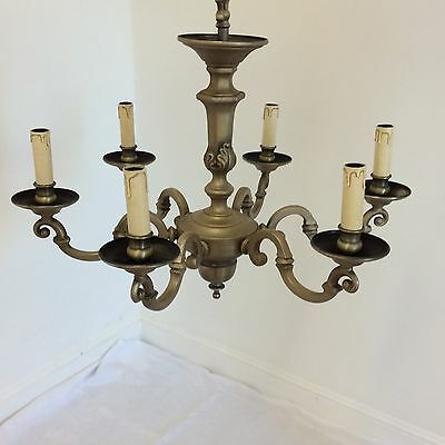 Antique Style 6 Arm Quality Chandelier 2