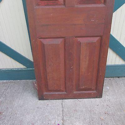 Antique Hand Made Wooden Cross & Book Door, Bennington Knob,Through Tenon,1840's 4