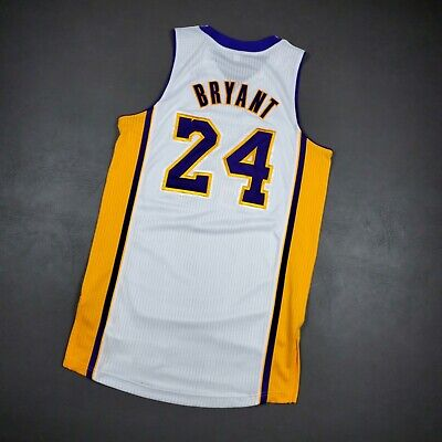 100% AUTHENTIC KOBE Bryant 2011 Lakers Jersey Size L 44 Mens Pro ...