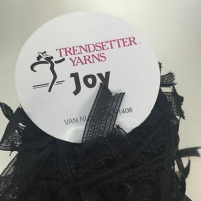 Joy Trendsetter Yarn Flag Component Trim Scarf Hat Wrap Knit Crochet 2