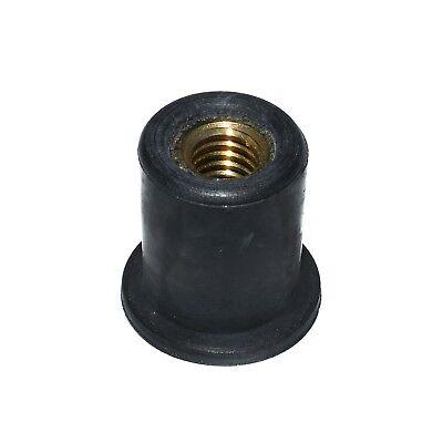 Rub Nuts Brass Insert Threaded Rivnuts Rubber Rivet Nuts M3 M4 M5 M6 M8 M10 M12 3
