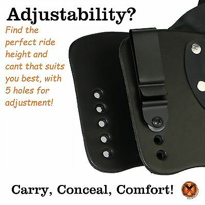 Holsters Holsters, Belts & Pouches FoxX Leather & Kydex IWB Holster