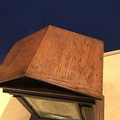 bracket clock Oak Cased W & H Superb 7