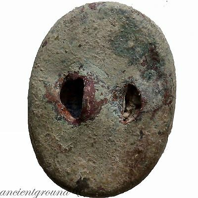 Late Post Medieval Uncertain Ring Stone With Female Bust 2