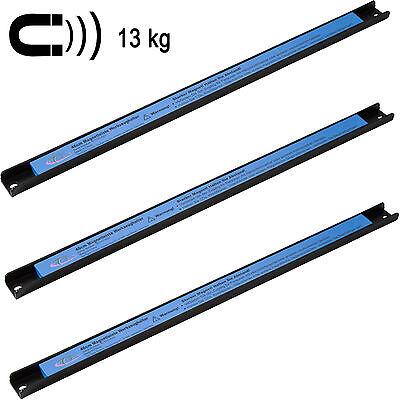 3x Barre magnétique porte outils pour rangement marteaux pinces tournevis 46cm 3