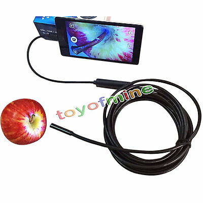 6LED Android Micro USB Endoscope Waterproof Borescope Inspection Video Camera 3
