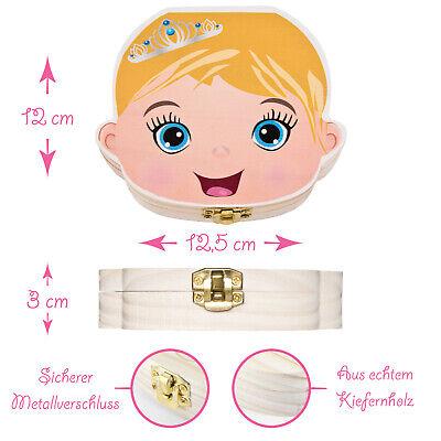 ZWEN Milchzahnbox 3.0 Milchzahndose Zahndose für Kinder Jungen /& Mädchen Zahnfee