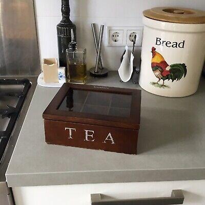 Riverdale. Caja De Te De Madera. Tea Box 4