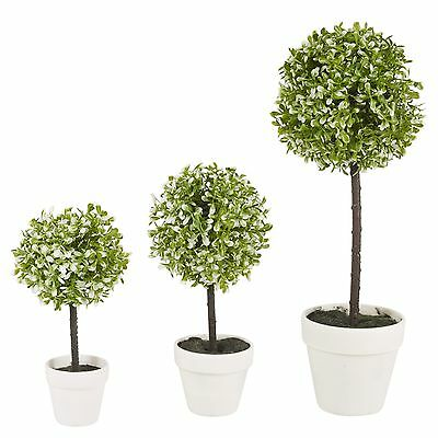 Decorative Artificial Outdoor Ball Plant Tree Pot Colour Small Medium Large 2