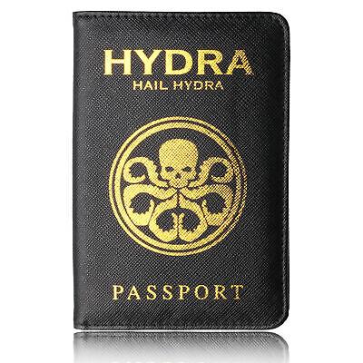 The Avenger Wakanda Hydra Hogwarts Passport Cover RFID Blocking Credit Card Case 11