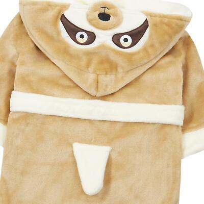 Childrens / Girls / Boys Novelty Sloth Dressing Gown / Robe ~ 2-13 Years 2