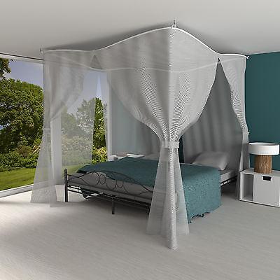 Moskitonetz Betthimmel Fliegennetz Mückennetz Doppelbett Insektennetz Reise Netz 4