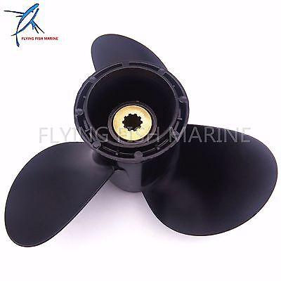9 1/4 x 11 R Propeller for Suzuki DF9.9 DF15 DF20A DT9.9 DT15 58100-93743-019 5