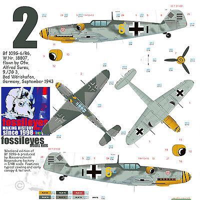 Eduard 1:48 Messerschmitt Bf 109G-6 Mtt Regensburg Edición Weekend EDK84143