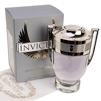 Paco Rabanne Invictus Eau De Toilette Mens Cologne Perfume Parfum