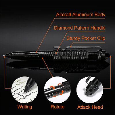 EDC Outdoor Tactical Pen Self Defence Attack Survival Tool NO Box 4