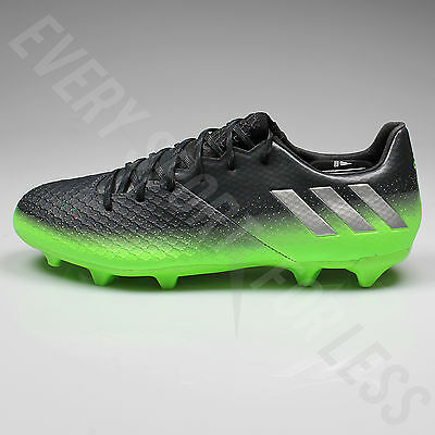 673225c70 ... Adidas Messi 16.2 FG Soccer Cleats S79630 - Gray Silver Green (NEW)