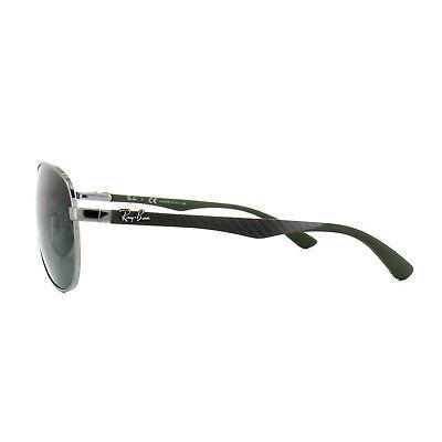 78cfbdfc33 2 di 5 Ray-Ban Sunglasses 8313 004 N5 Gunmetal Grey Polarized 61mm Large