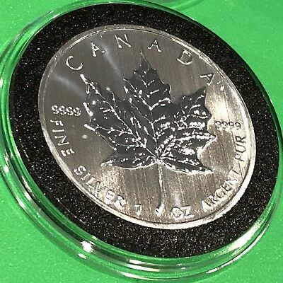 2013 Canada Maple Leaf Collectible Coin 1 Troy Oz .9999 Fine Silver Round Medal 11