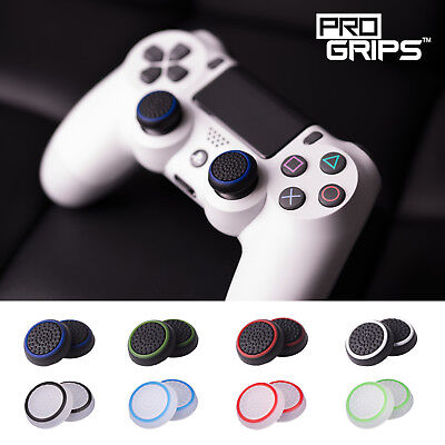 2 x Pro Grips™ Thumb Stick Covers Grip Caps For Sony PS4 Playstation Controller 2