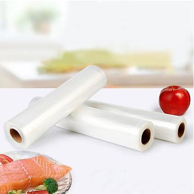 6/10 X Vacuum Food Sealer Seal Bags 6M Rolls Saver Storage Commercial 20 22 28cm 9