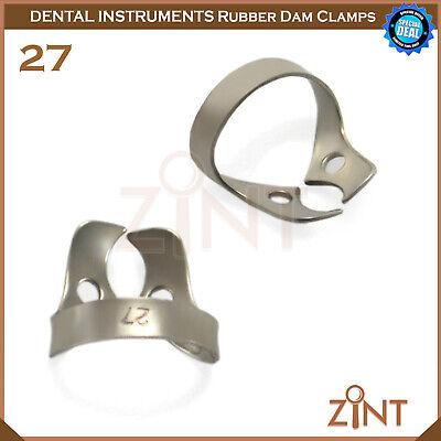 Rubber Dam Universal Clamps Upper & Lower Premolar Anterior Medesy Basic Set New 8