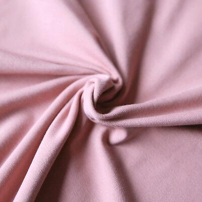 Jersey Stoff einfarbig | Uni Stoff | Top - Qualitäts - Baumwolljersey | Öko-Tex 4
